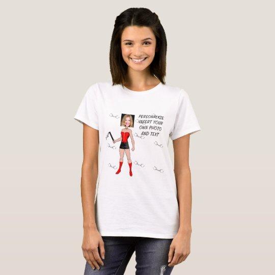 Geliebte-T-Shirt - personifizieren Sie Foto u. T-Shirt