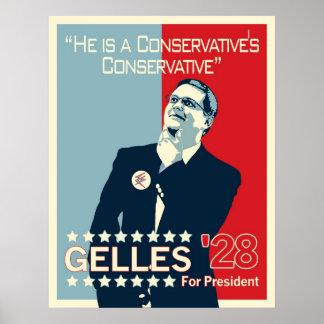 Gelles Hoffnungs-Plakat Poster