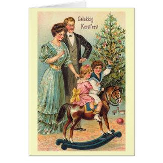 """Gelukkig Kerstfeest "" Grußkarte"