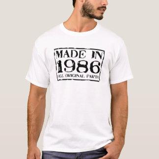 gemacht im Jahre 1986 alle Vorlagenteile T-Shirt