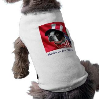 Gemacht im T-Shirt USA-Hundebostons Terrier