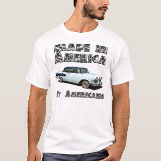 Gemacht in Amerika, durch Amerikaner T-Shirt