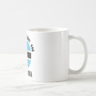 Gemacht in Botswana Kaffeetasse