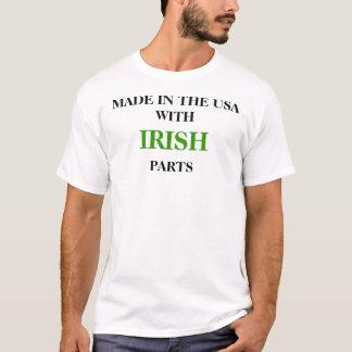 GEMACHT IN DEN USA MIT IRISCHEN TEILEN T-Shirt