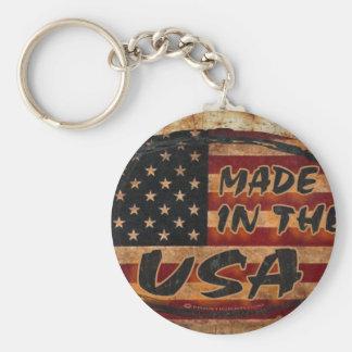 Gemacht in den USA Standard Runder Schlüsselanhänger