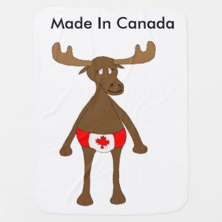 Gemacht in Kanada Baby-Decke