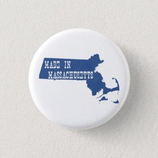 Gemacht in Massachusetts Runder Button 2,5 Cm
