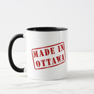 Gemacht in Ottawa Tasse