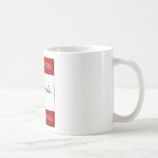 Gemacht in Peru Kaffeetasse