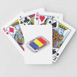 Gemacht in Rumänien Bicycle Spielkarten