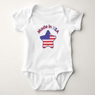 Gemacht in USA Baby Strampler