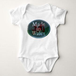 Gemacht in Wales-Baby wachsen Sie Baby Strampler
