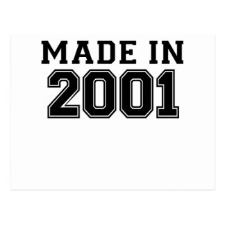 GEMACHTES IM JAHRE 2001 .PNG POSTKARTE