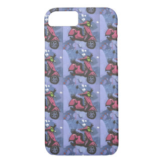 Gemalter Motorrad iphone Fall iPhone 8/7 Hülle
