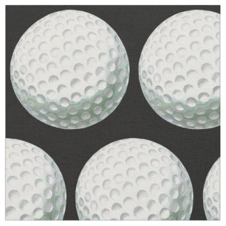 Gemaltes Golfball-Muster Stoff