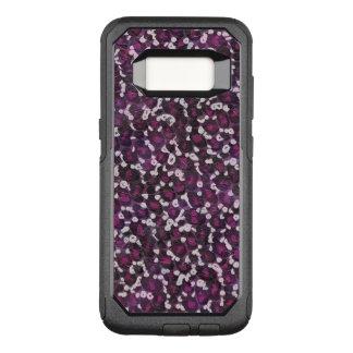Gemaltes lila Tier OtterBox Commuter Samsung Galaxy S8 Hülle
