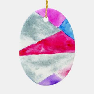 Gemaltes polygonales Background2 Keramik Ornament