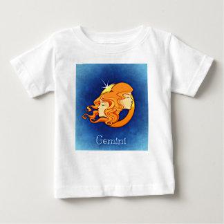 Gémeaux, jumeau t-shirt pour bébé