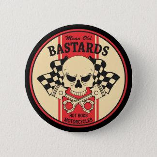 Gemeine alte bastard runder button 5,1 cm