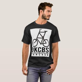 Gemeinschaftsfahrrad-Geschäfts-grafisches T-Stück T-Shirt
