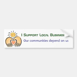 Gemeinschaftsgeschäfts-Unterstützung Autoaufkleber
