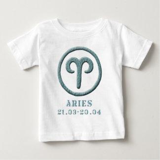 Gemini zodiac twins t-shirt pour bébé