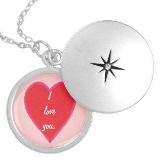 Gemischte rote Herz-Valentinsgruß-Halskette Anhänger