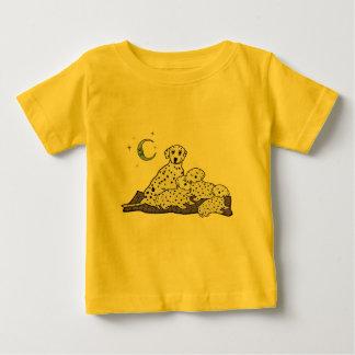 Gemütlich Dalmation Träume Baby T-shirt