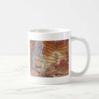 Gemütliche Kabine Kaffeetasse