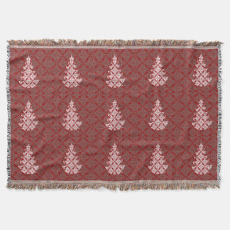 Gemütliches hohes dieser Feiertag rote Decke