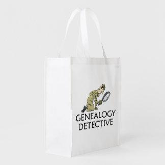 Genealogie-Detektiv Einkaufstasche