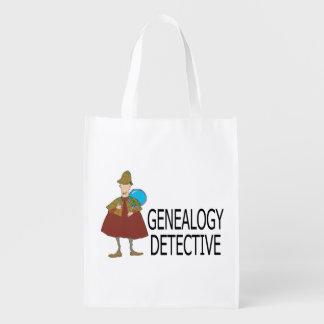 Genealogie-Detektiv Wiederverwendbare Einkaufstaschen