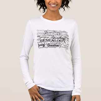 Genealogie-Text-T - Shirt