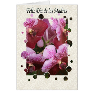General Feliz dia de Las Madres Grußkarte