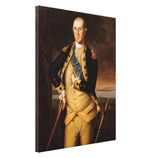 General George Washington Leinwanddruck
