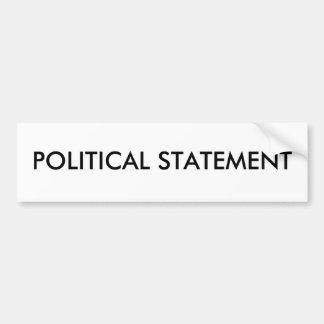 Generisch - POLITISCHE AUSSAGE
