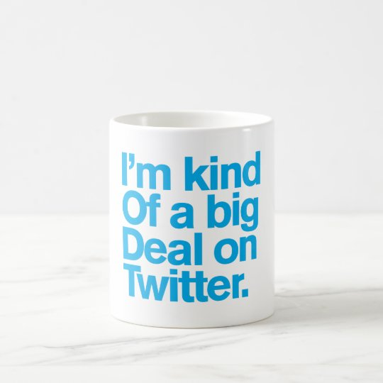 Generisches Comedy™/große Sache auf Twitter. Tasse