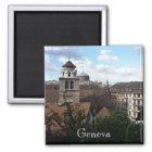 Genf-Schweizer Quadratischer Magnet