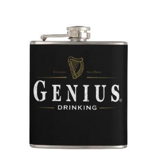 Genie-@ trinkende Flasche Flachmann