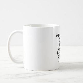 Genießen Sie die Kleinigkeiten - inspirierend Tasse