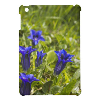 Gentian flowers cover iPad mini hülle