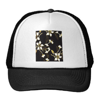 Gentil superbe mignon de paix florale de crèche de casquette de camionneur