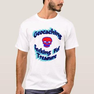 Geocaching, das für Schatz-T-Shirt sucht T-Shirt