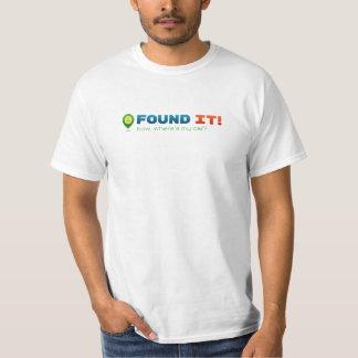 Geocaching fand es! Wo ist mein Auto? T-Shirt