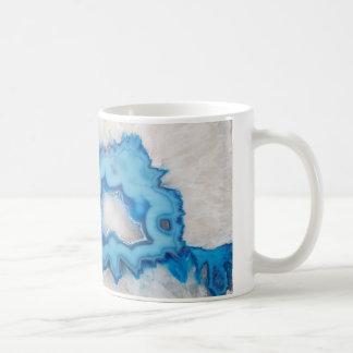 Geode Scheibe Kaffeetasse