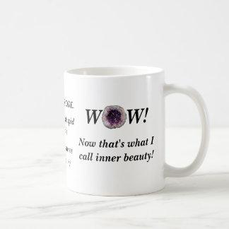 Geodes sind eine Metapher für innere Kaffeetasse
