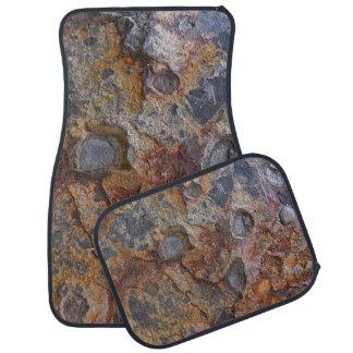 Geologie-Grungy Felsen-Beschaffenheit Auto Fussmatte