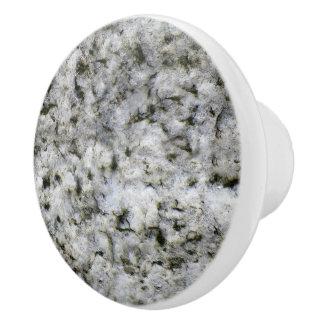 Geologie-weiße Granit-Felsen-Beschaffenheit Keramikknauf