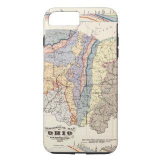 Geologische Karte von Ohio iPhone 8 Plus/7 Plus Hülle
