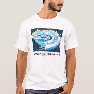 Geologische Zeit in der Perspektive (geologisches T-Shirt